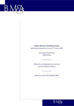 Couverture rapport CAC 2013