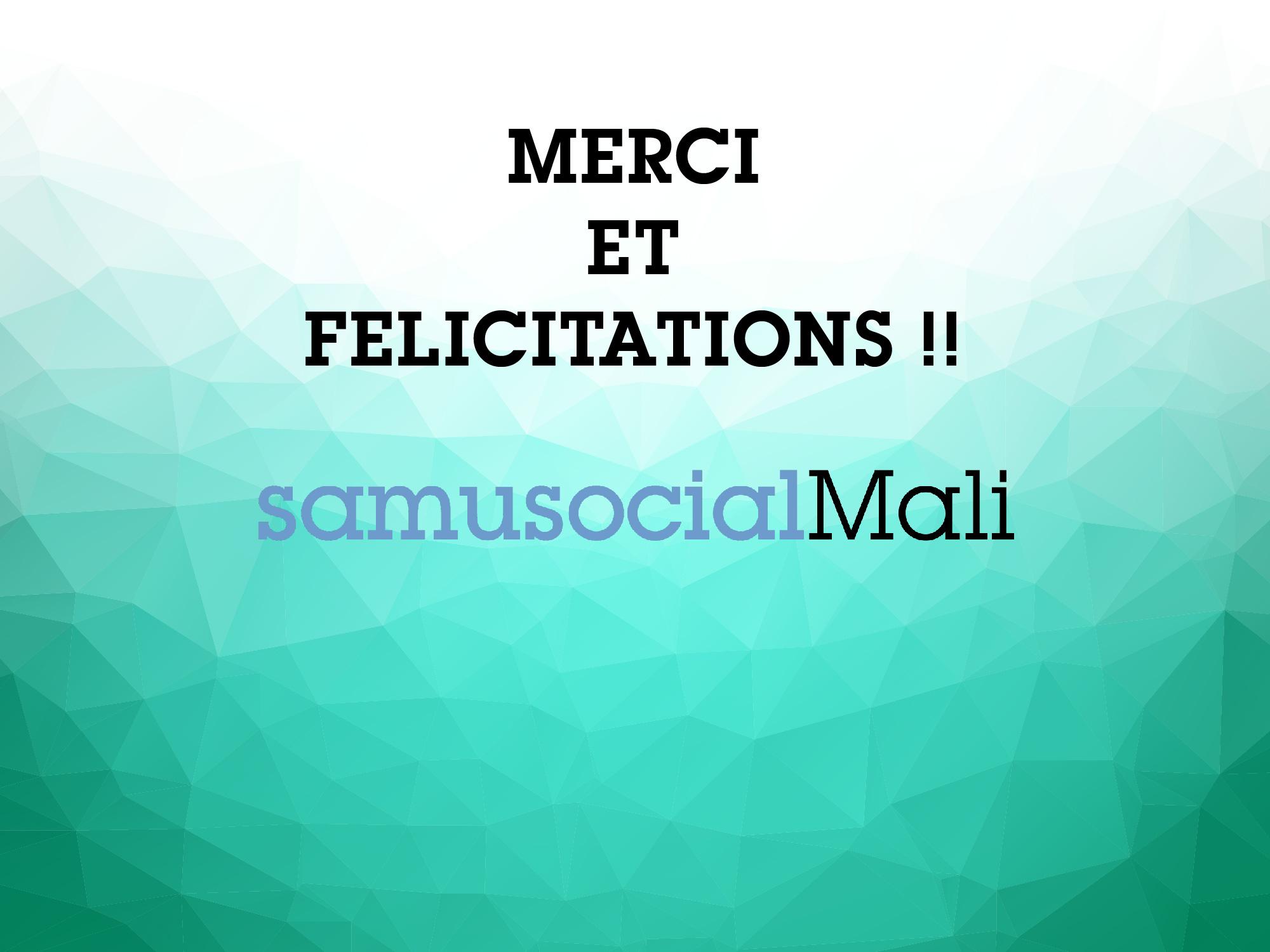 collecte événementielle Mali